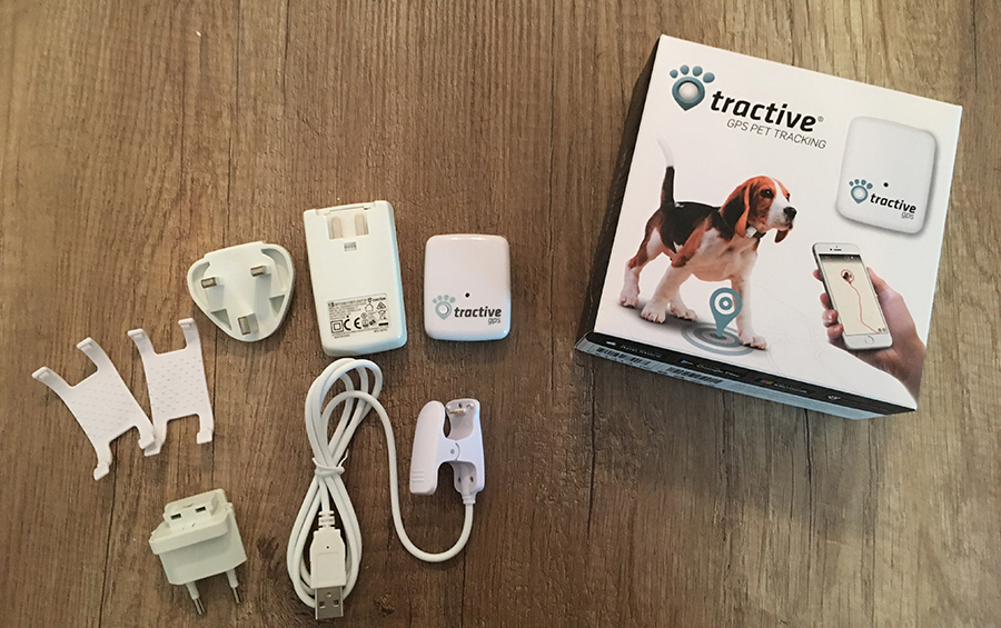 tractive GPS PET TRACKER Lieferumfang