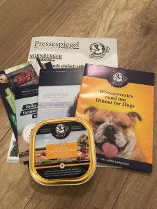 Dinner for Dogs - gesunde Nahrung für Hunde ohne Zusatzstoffe