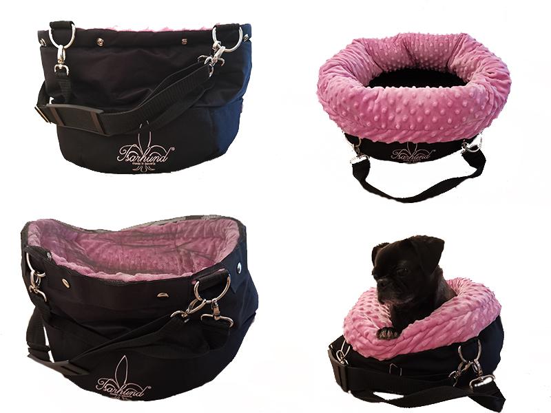 Isarhund Herzstück Hundetransporttasche